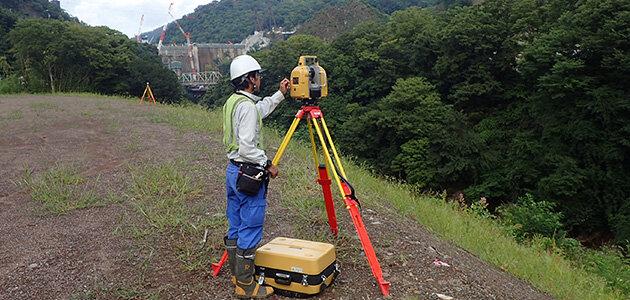 地上レーザ測量