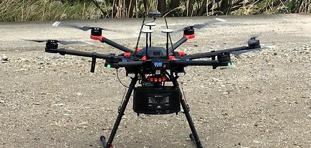 UAVレーザ測量